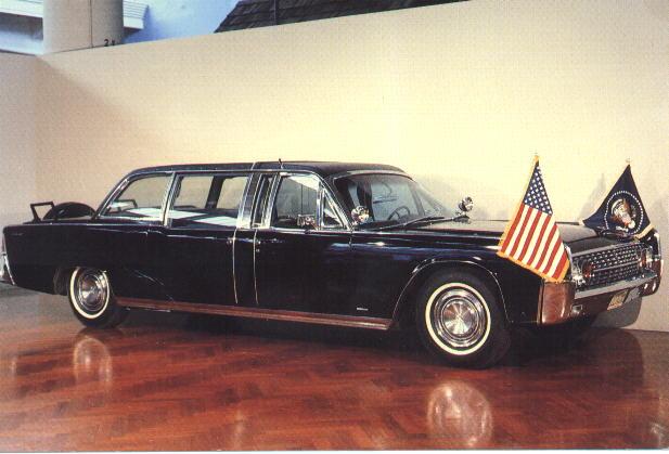Jfk Assassination Presidential Limousine Ss100x