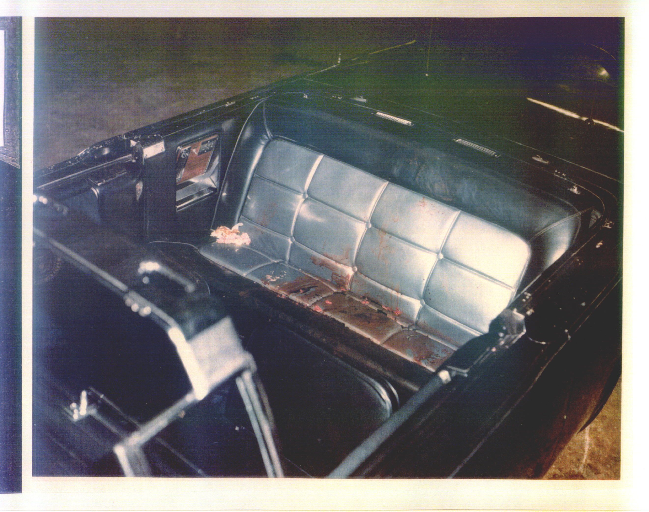 jfk assassination presidential limousine  ce352